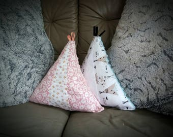 """My Bohemian teepee"" nest egg height 30cm"