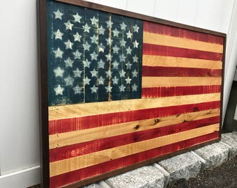 Handcrafted American Flag