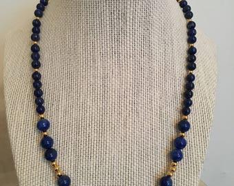 Blue Lapis & Gold