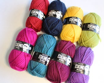 Drops Eskimo Bulky Wool Yarn - Known in the UK as Felting Yarn