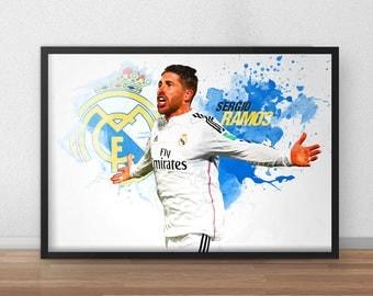 Sergio Ramos Poster