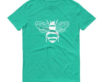 Bumble Bee Tee. Bee print. Graphic Women's Tee.