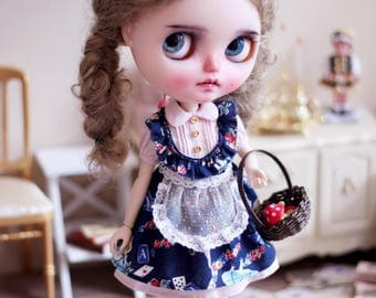 Alice Deco Blythe doll Dress Set