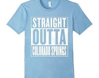 Colorado Springs Shirt Straight Outta Colorado Springs Shirt
