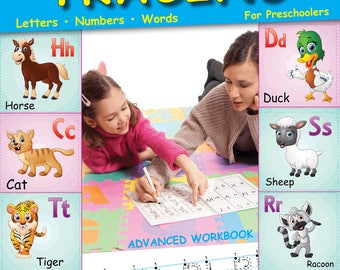 Letter Tracing for Preschoolers: Lots of Fun for ages 3-5+