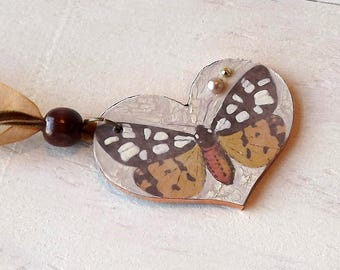 Heart Pendant by Leighrc Design 'That's Vintage Jewellery Collection'
