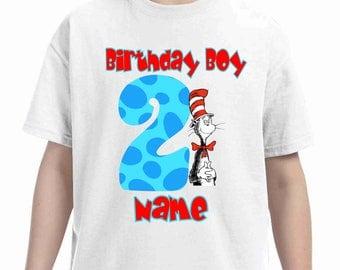 Dr seuss Birthday t-shirt-Pokemon birthday shirt