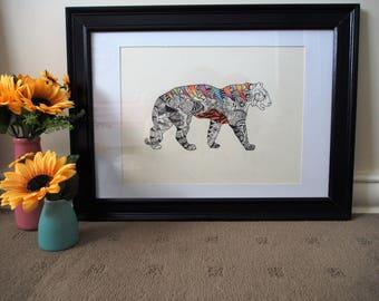 Original Tiger Artwork