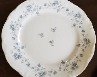 Vintage Johann Haviland Blue Garland Dinner Plates