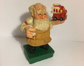 Vintage Santa Crafted By David Frykman Collection 1995