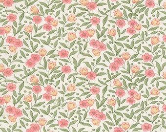 Blossom from Sevenberry Petite Fleurs Fabric by Robert Kaufman - 100% Cotton