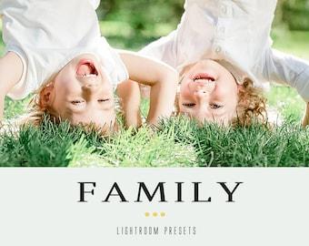 70 Family professional lightroom presets