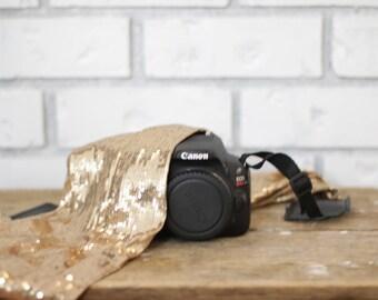 Sequin Sister - Camera Strap