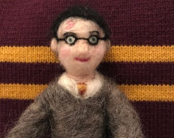 Harry Potter Doll Felted Gift