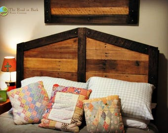 Rustic Queen-Size Headboard Local Pickup or Delivery Only
