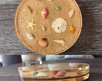 Custom Made Resin Coasters