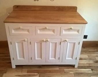 Side Cabinet Handmade Oak