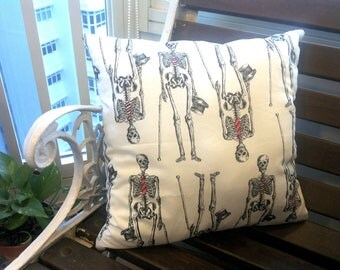 Work Yourself To The Bone (A cushion to accentuate your nightmares & dreamscapes).