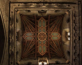 St David's cathedral ceiling