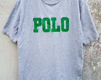 Vintage Polo Ralph Lauren Spell Out Tshirt