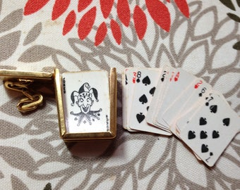 Vintage Playing Card Necklace Charm