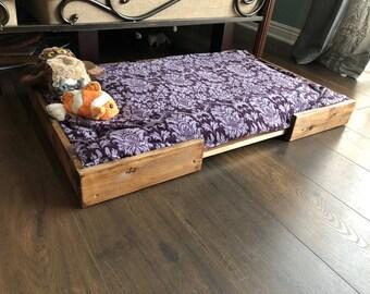 Dog bed frame
