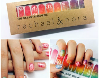 LDS Young Women Holographic Nail Wraps