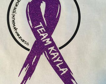 Personalized Hodgkins Lymphoma Awareness Tee