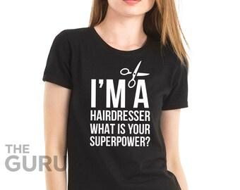 Hairdresser shirt gift for hairdresser hairdresser shirts shirts for a hairdresser hairdresser t shirt hairdresser tshirts hairdresser gift