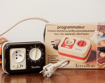 Programmer Terraillon - Made in France - 70's.