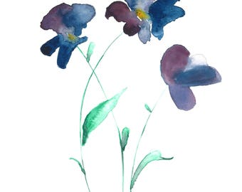 Wildflower Purple