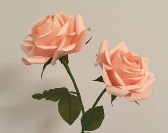 Custom Made Paper Roses