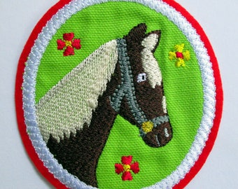 Patch, horse, back to school, school bag