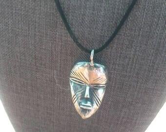 Sterling silver Dan wearable mask.