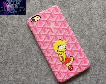 Goyard Pink Case For Iphone 6 6Plus 7 7Plus #ElevatedCases
