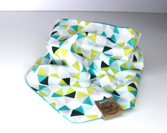 Tropical Triangles: Reversible Dog Bandana
