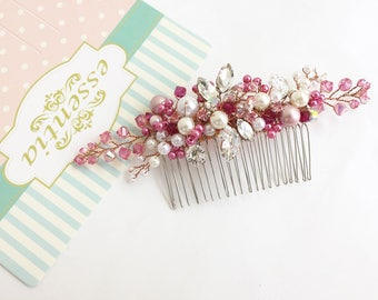 Petunia Haircomb in Fuschia