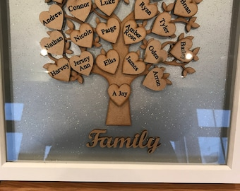 Large family tree