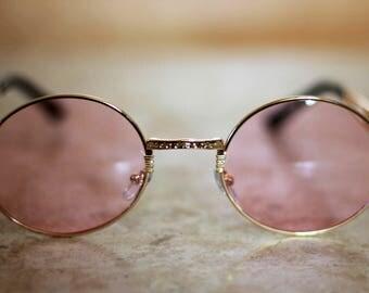 70's Round Tinted Sunglasses