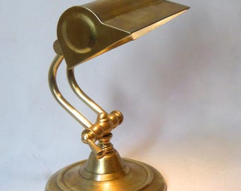 Acrobat - Table lamp - Bronze and brass - unique