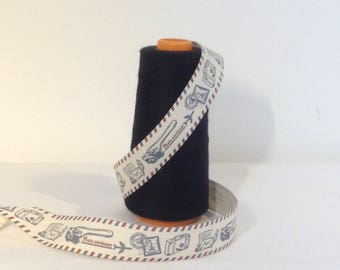 Air mail printed Ribbon