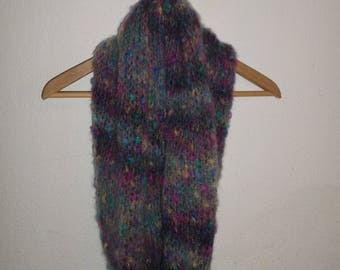 Scarf / Snood for women hand knit