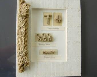 "Frame decorative theme ""Seaside"""