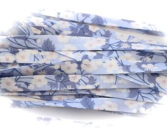 BIAS LIBERTY of LONDON Mitsi blue hyacinth white sold by 50 cm
