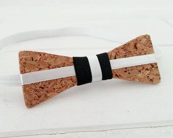 "Bow tie for men ""Bernard"" wooden"
