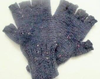 Fingerless gloves with finger - joint adult