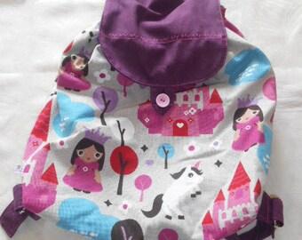 Bag bag - back to taste - Princess and Unicorn