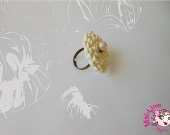 RING VIOLET FLOWER - VIOLET 8 COLLECTION 05