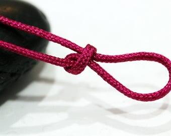 10 m cord nylon raspberry diameter 1.5 mm