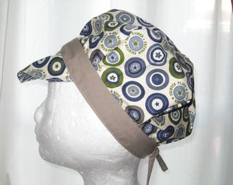 "Adjustable newsboy cotton ""Starry head"""